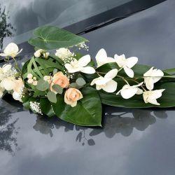 Blumen-Autoschmuck